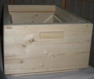 Aufsatzkasten für Gerstung-Ständerbeute, doppelwandig (Honigkasten)