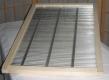 Draht-Absperrgitter im Holzrahmen für Gerstung Ständerbeuten