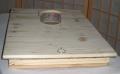 Holzdeckel doppelwandig mit einem 8cm weiten Futterloch für Gerstung Ständerbeuten