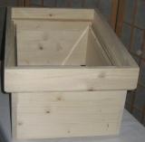 Aufsatzkasten für Gerstung-Ständerbeute, einfachwandig (Honigkasten)